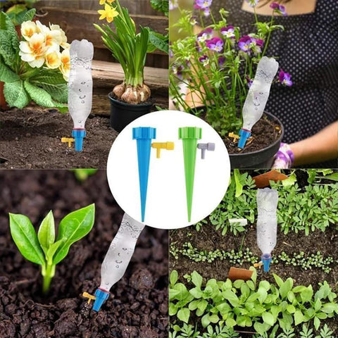 8 Pcs/set Automatic Watering Spikes Plant Water Funnel