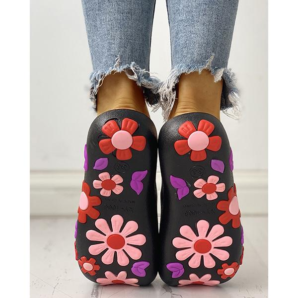 Open Toe Flower Cute Casual Slippers