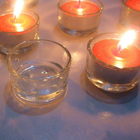 No Smoke Glass Weeding Candle