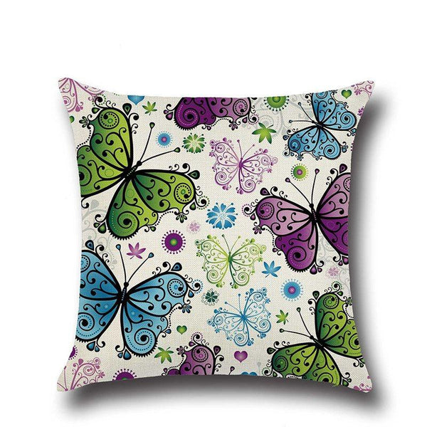 Linen Pillowcase Reactive Printing