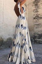 Load image into Gallery viewer, Sexy New Backless Floral Print Maxi Dress