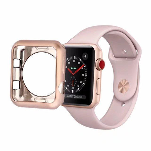 Apple Watch Clear Bumper Protective Case Cover