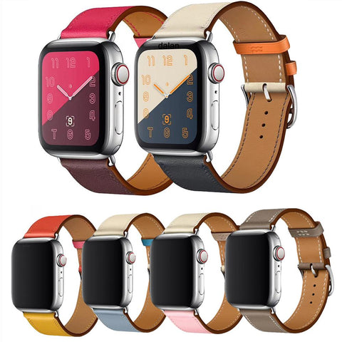 Apple Watch Leather Single Tour Watchband