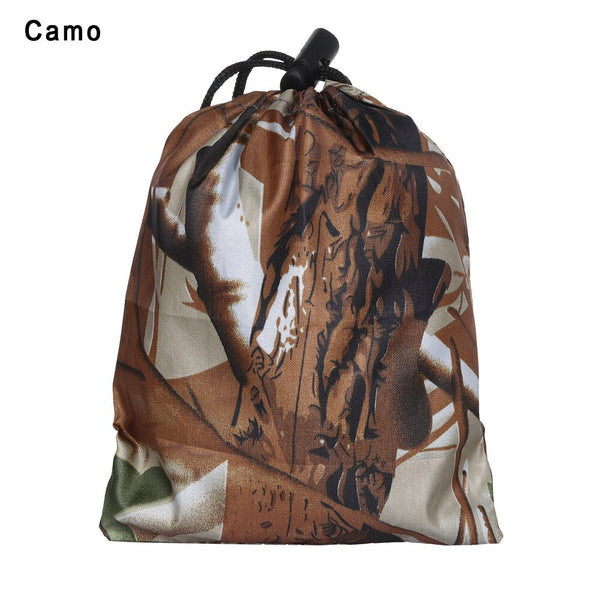 Multicolor Organizer Bag Fits 20-80L Backpack Rain Cover Portable Waterproof Anti-tear Dust Proof Anti-UV Camouflage 17 Colors