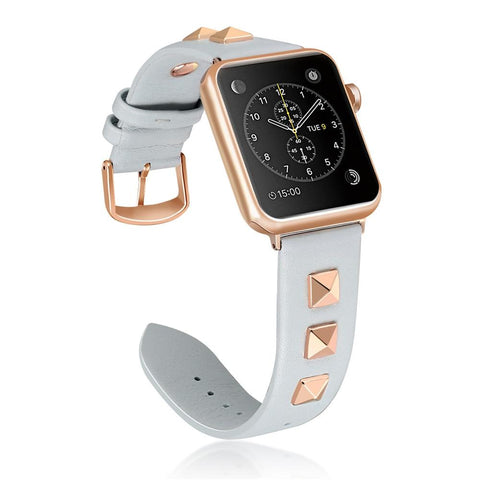 Apple Watch Luxury Rivet Style Buckle Watchband
