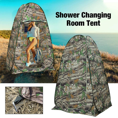 Portable outdoor dressing tent/photography tent Privacy Shower Toilet Camping Pop Up Tent Camouflage/waterproof/UV function