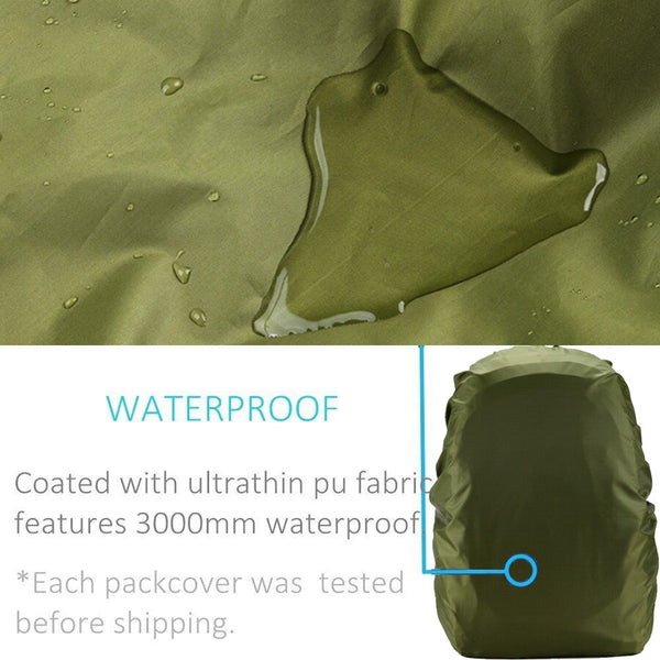 Rain cover backpack 90L 95L 100L Waterproof Bag Camo Army Tactical Outdoor Camping Hiking Climbing Dust Raincover Molle rucksack