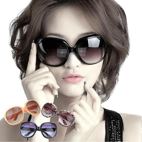 Women's Retro Vintage Shades Oversized Designer Sunglasses