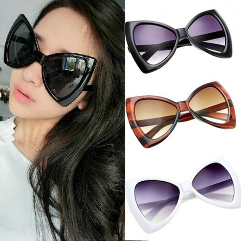 New Fashion Women's European Style Sunglasses Bowknot Frame Big Lens Eyewear Shades Glasses