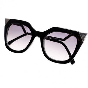 Women's Retro Square Frame Big Lens Eyewear Shades Sunglasses
