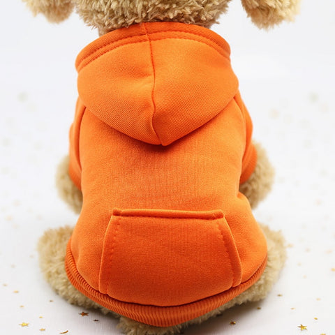 XS-2XL Pet Dog Hoodie Coat Soft Fleece Winter Warm Puppy Clothes Hot Sale Dog Sweatshirt Dog Costume For Small Dogs Pet Supplies