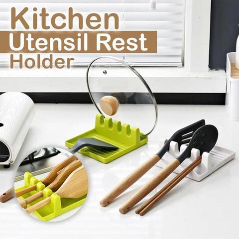 Kitchen rack spoon pad chopsticks pot lid spatula pad