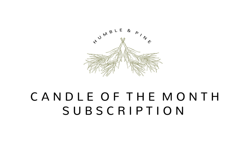 Candle Of The Month Subscription (4 oz)