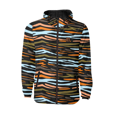 Zebradical  Quilted Windbreaker