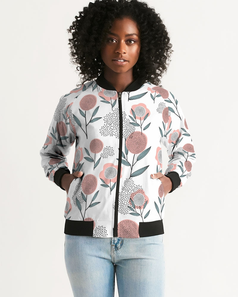 Poppy Bomber Jacket