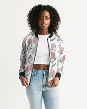 Load image into Gallery viewer, Poppy Bomber Jacket