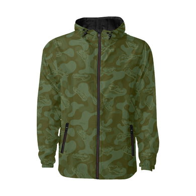 Golflauge Quilted Windbreaker
