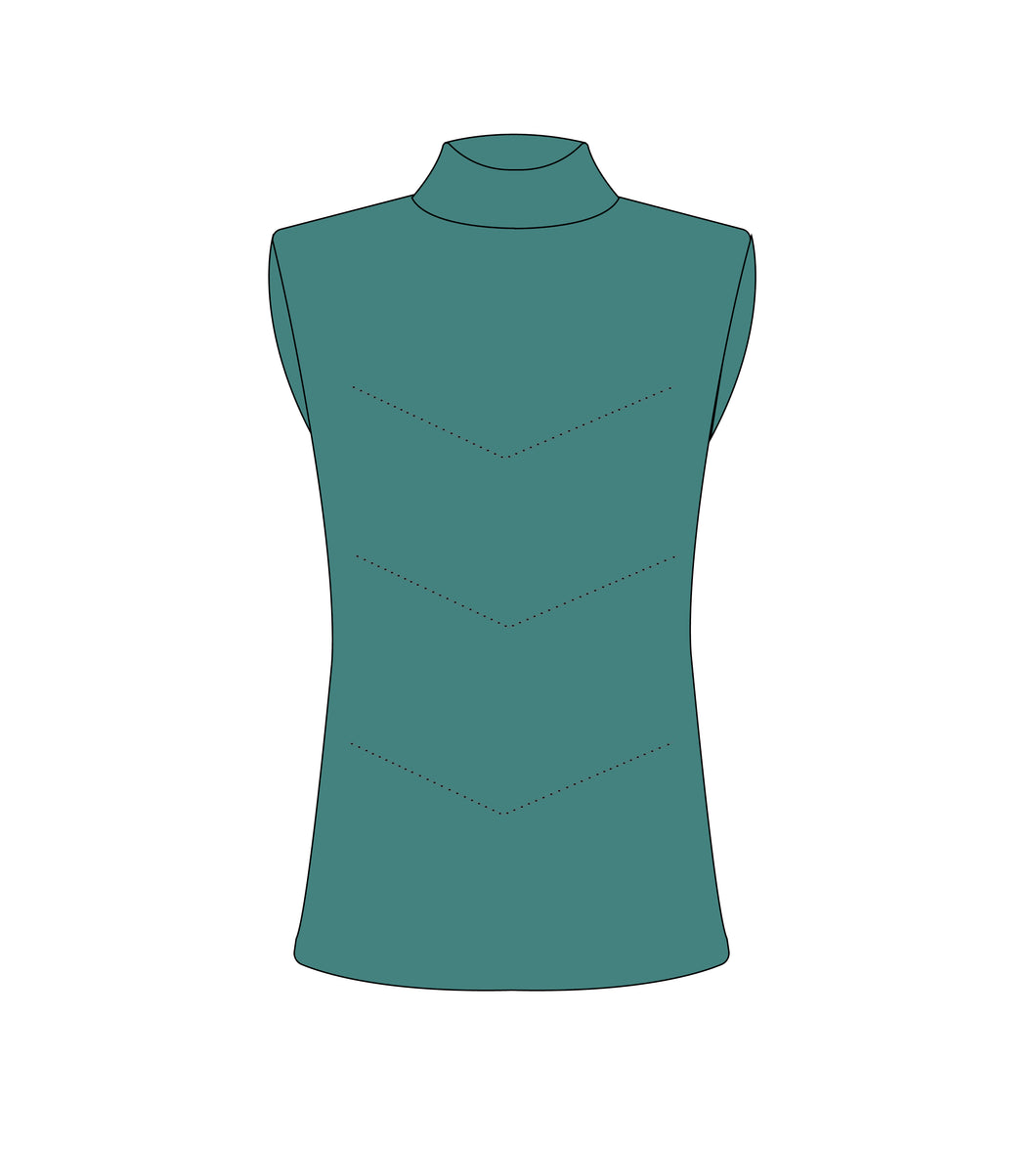 Coco Tank - Teal