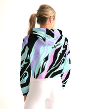 Load image into Gallery viewer, Purple Haze Crop Golf Hoodie