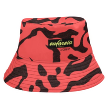 Load image into Gallery viewer, E.E.D. Cowabunga Camo Electric Red Bucket Hat