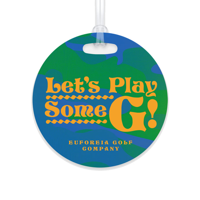 Play Some G Limited Edition Bag Tag