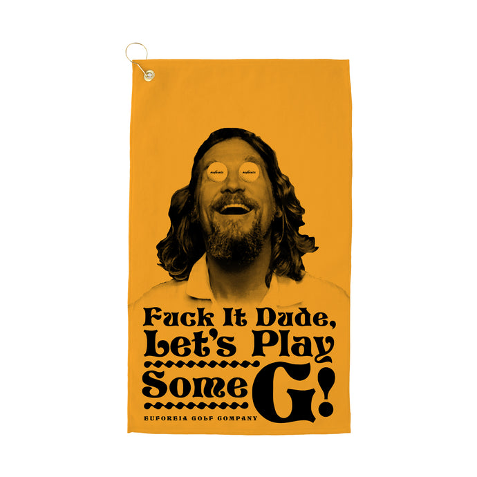 Golf Abides Golf Towel