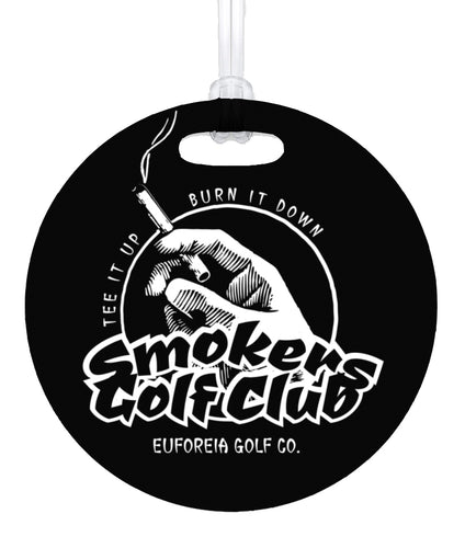 Smokers Club Bag Tag