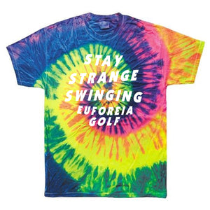 Stay Strange Swinging Tie Dye Tee
