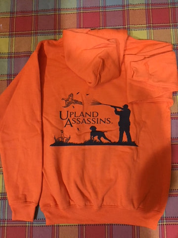 Hunter Orange Youth Hoodie