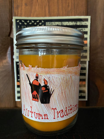 Autumn Traditions 16oz Mason Jar Candle