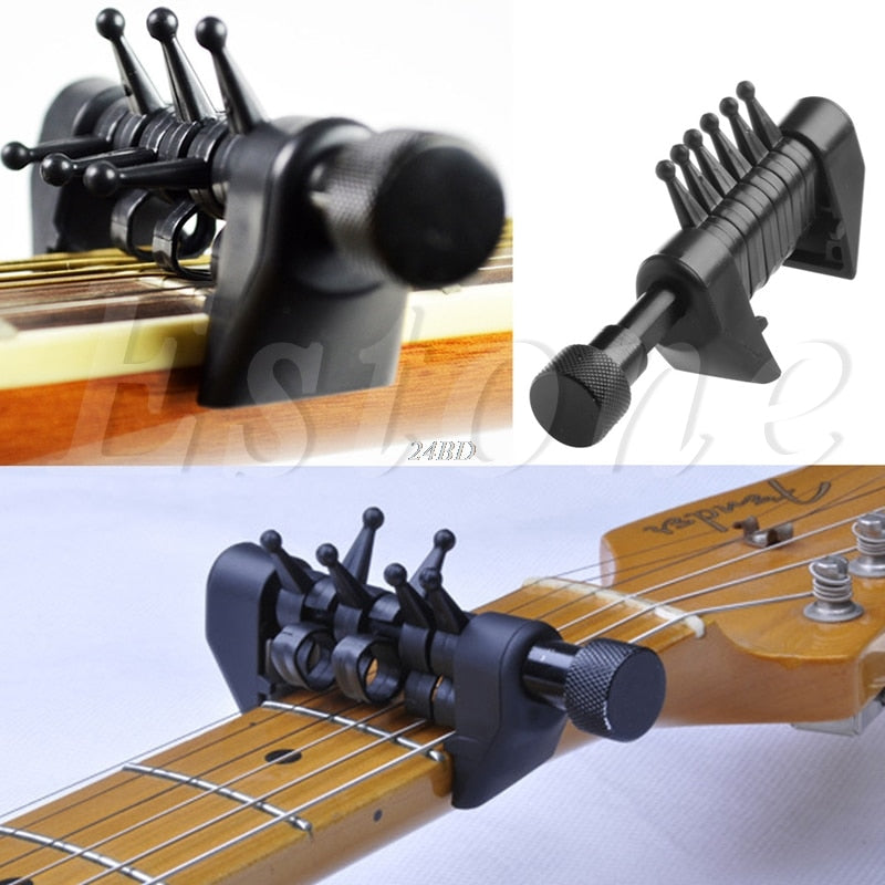 Multifunction 6 Chord Capo Open Tuning Spider Chords For Acoustic Guitar Strings J24