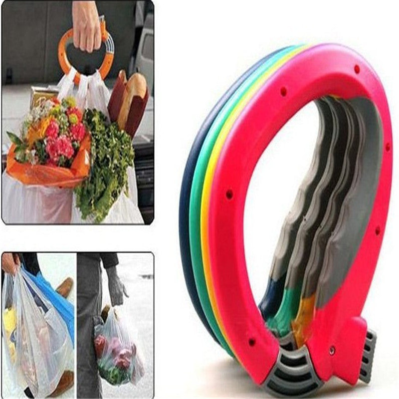 Convenient Large Load Retractable Portable Multi Functional Extract D-type Devices Shopping Carry Bag Filter Carrier Holder
