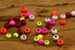 Painted Brass Beads