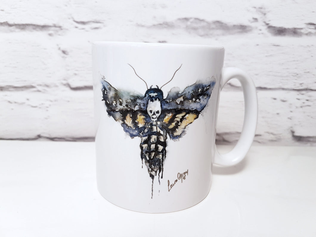 Death head moth mug