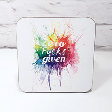 Set of 4 sweary coasters fuck and shit