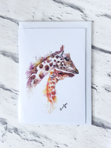 Mix and match set of 4 greetings cards