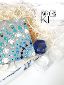 Mandala dot painting art therapy kit