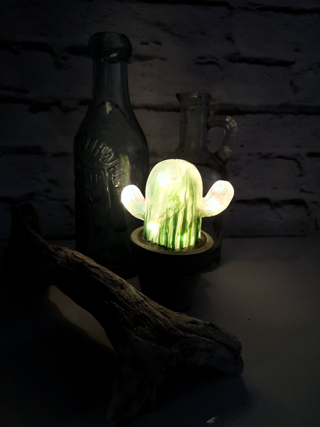 Cactus plant led light - cute little prick