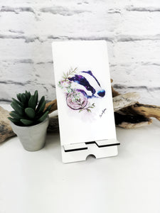 Phone stand with your choice of art