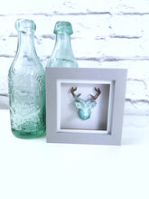 Geometric resin stag art