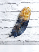 Resin Feather Wall Art Light