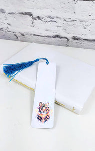 Geometric Tiger Bookmark