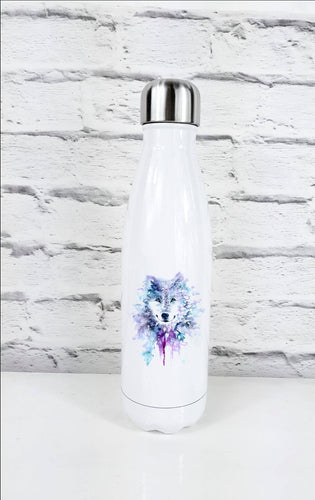 Geometric Wolf Thermal Water Bottle