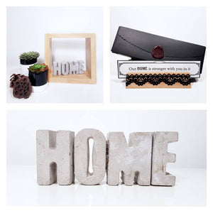 Concrete home gift set