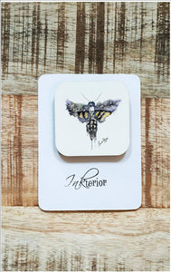 Death Head Moth Magnet