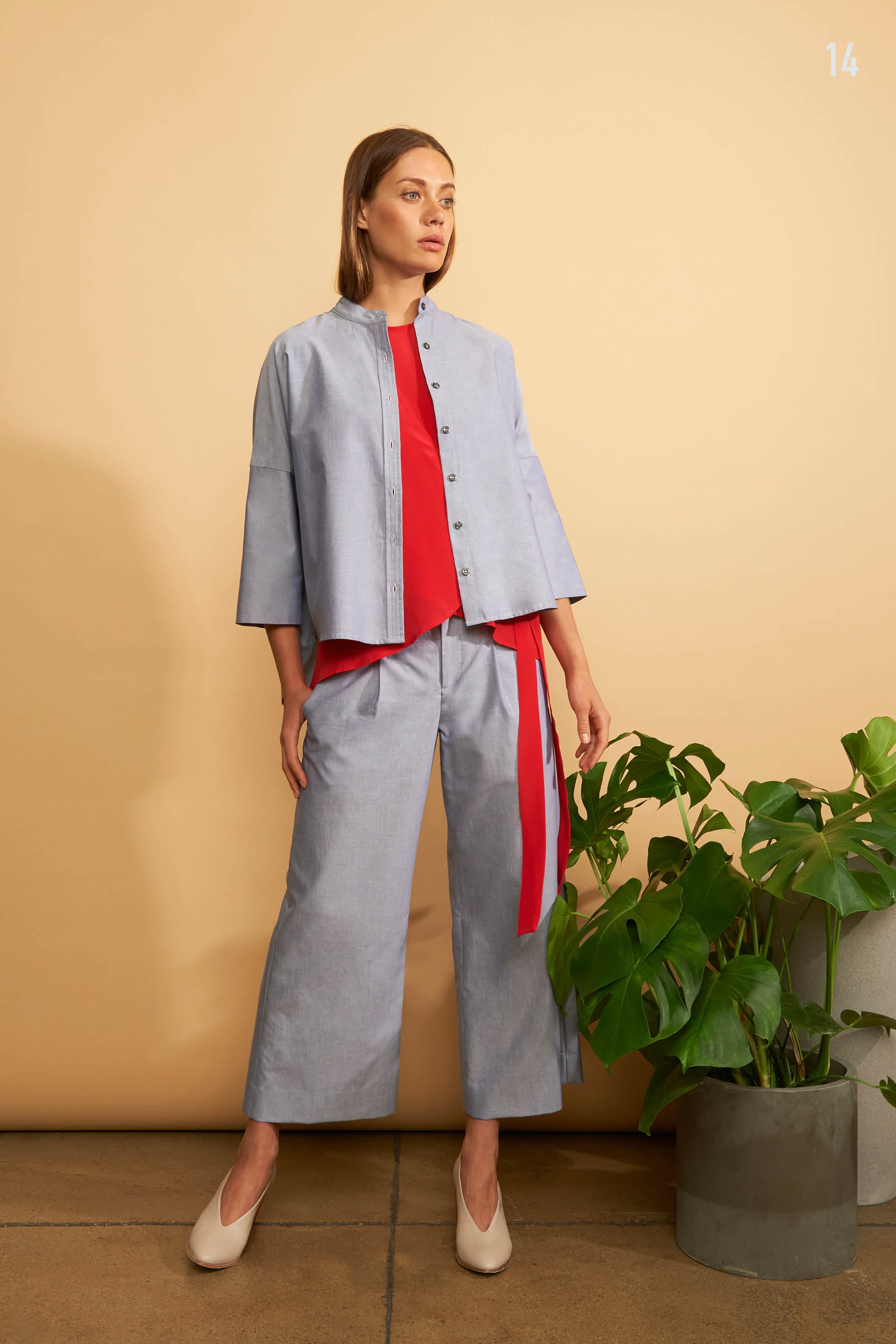 Kal Rieman Spring 2018 Lookbook Look 14