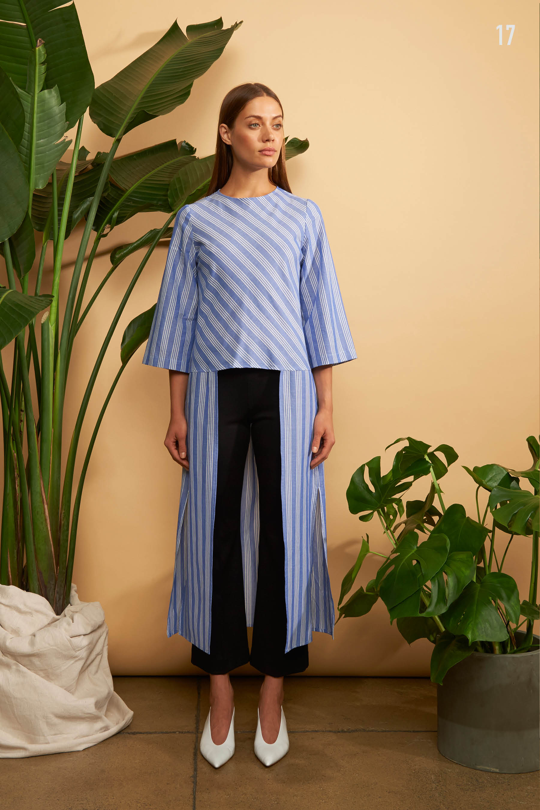 Kal Rieman Spring 2018 Lookbook Look 17