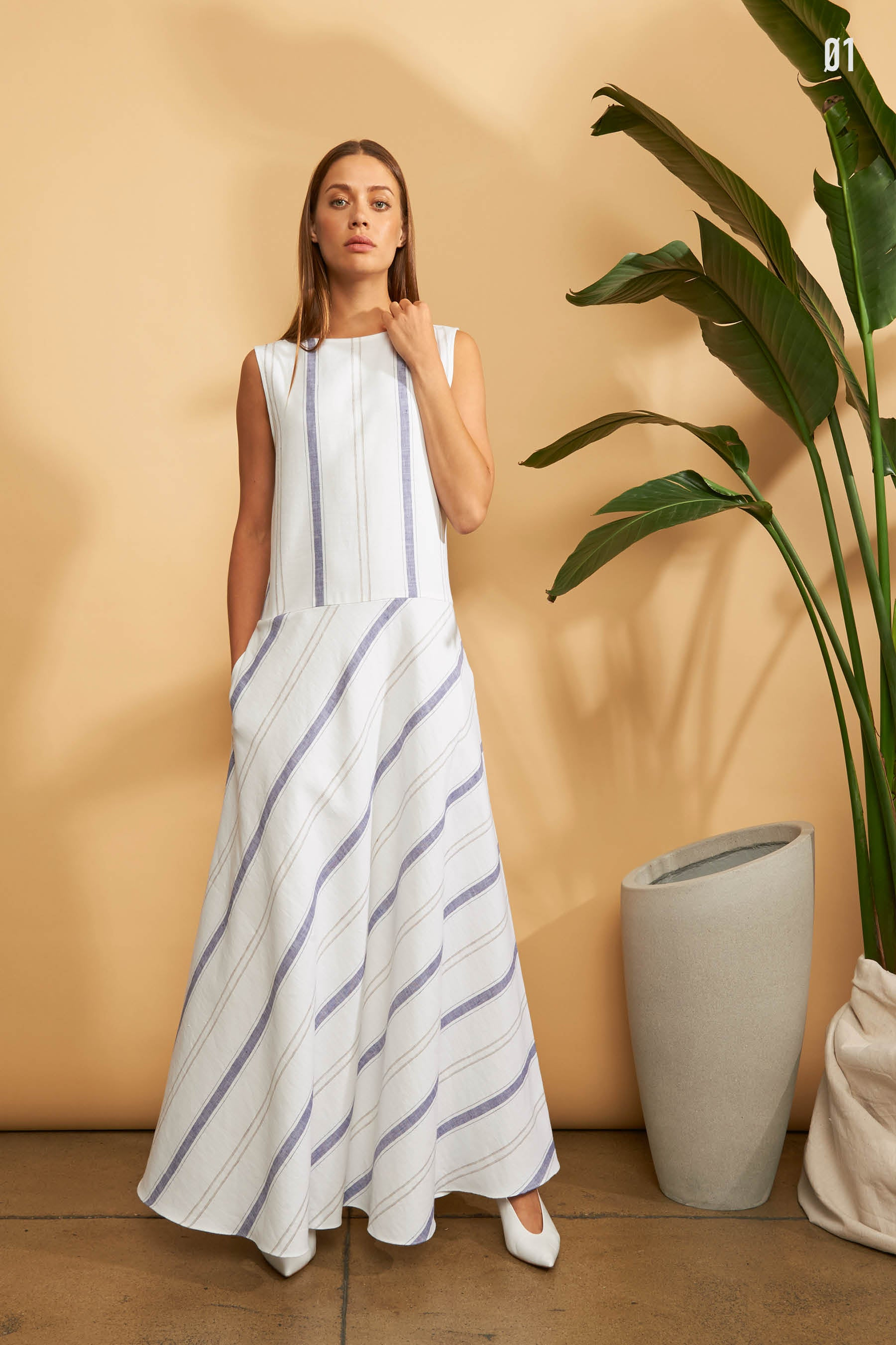 Kal Rieman Spring 2018 Lookbook Look 1