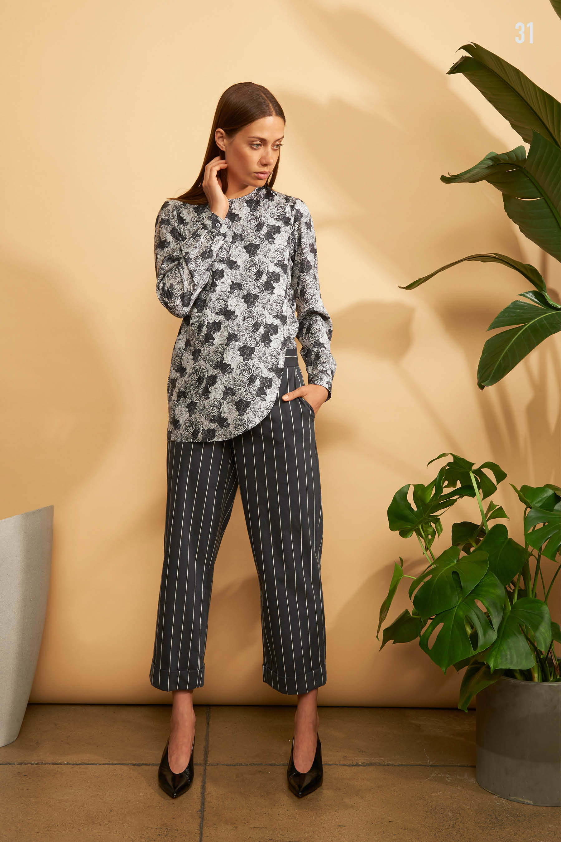 Kal Rieman Spring 2018 Lookbook Look 31