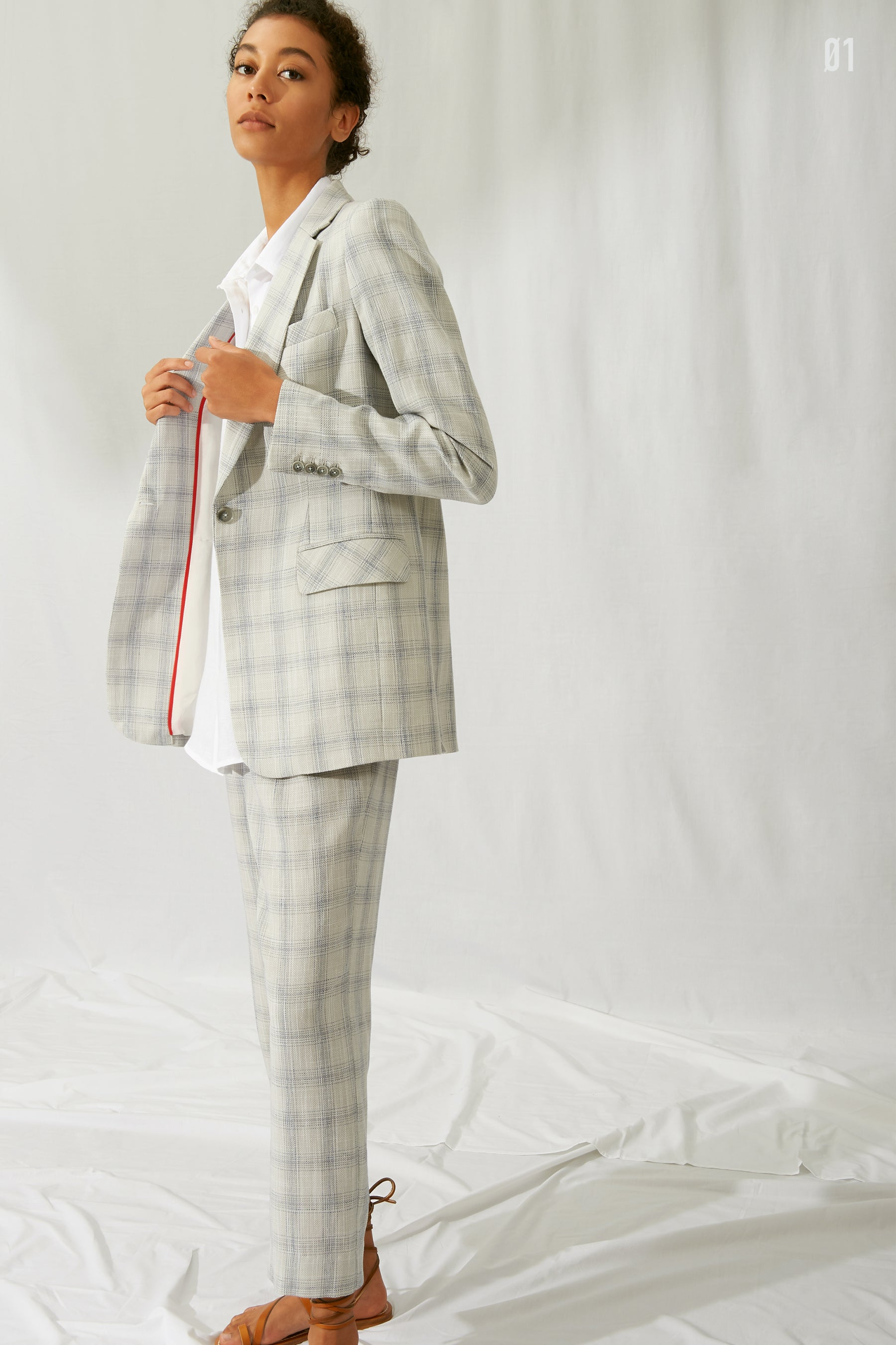 Kal Rieman Spring 2020 Lookbook Look 1